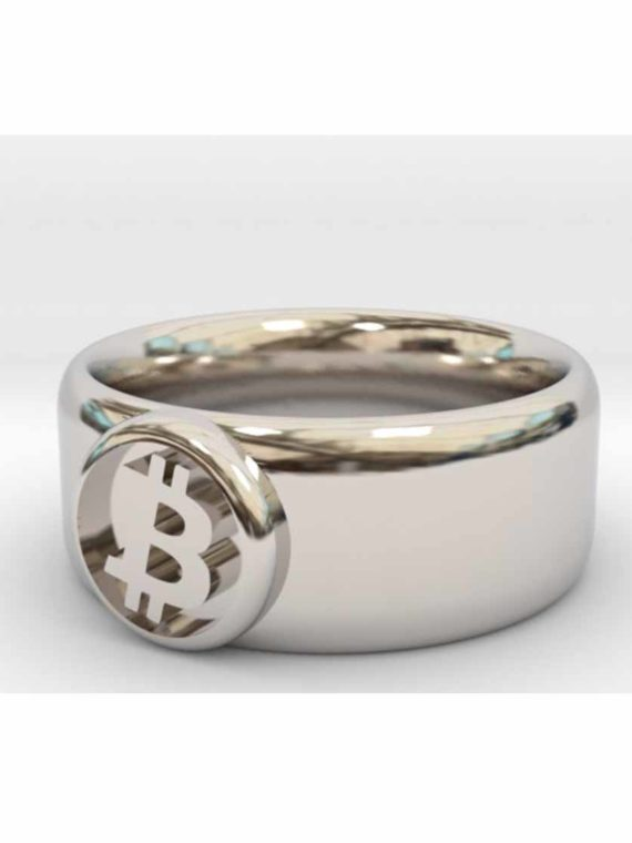 Bague-Bitcoin-Btc-Rhodium